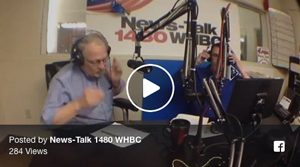 Bob Cohen interviewed at WHBC radio